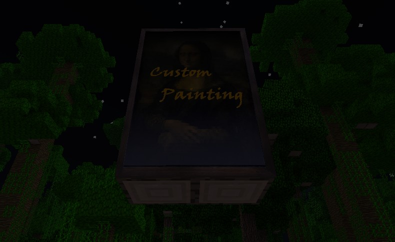 how to make custom minecraft paintings