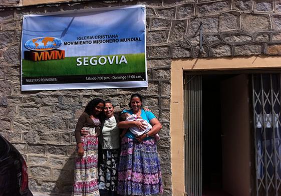 IGLESIA EVANGELICA PENTECOSTES MOVIMIENTO MISIONERO MUNDIAL SEGOVIA