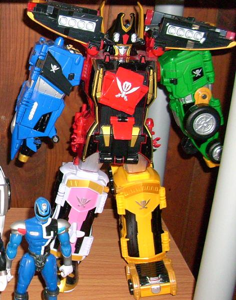 collection de jps Gokai-319e7bb